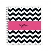 Planner Black and White Pink